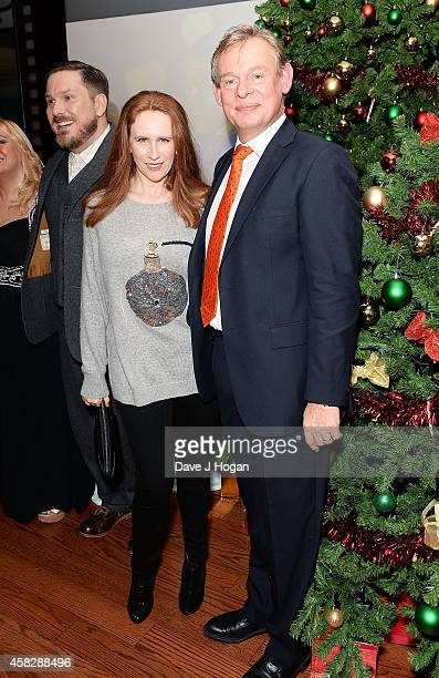 Marc Wootton Catherine Tate and Martin Clunes attend the UK Premiere of 'Nativity 3 Dude Where's My Donkey' at Vue West End on November 2 2014 in...