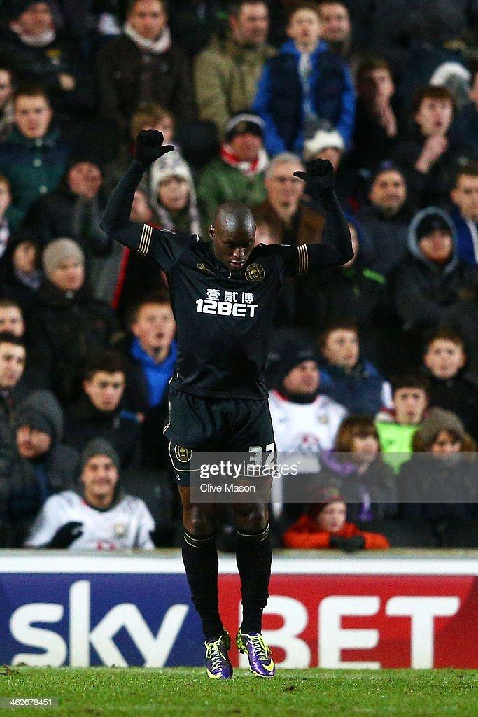 Milton Keynes Dons v Wigan Athletic - FA Cup Third Round Replay