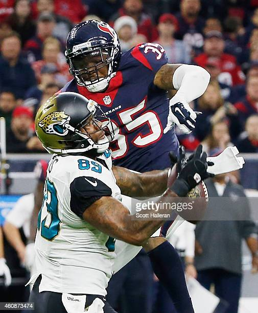 Marcedes Lewis In Jacksonville Jaguars V Houston Texans: Eddie Pleasant Stock Photos And Pictures
