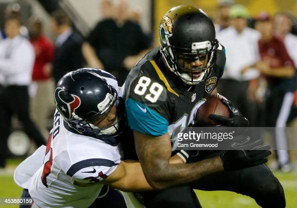 Marcedes Lewis In Jacksonville Jaguars V Houston Texans: Darryl Lewis Stock Photos And Pictures