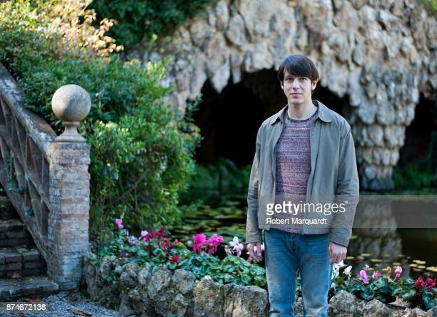 Marcel Borras poses for the press on the set of his latest film 'Matar al Padre' on November 15 2017 in Barcelona Spain