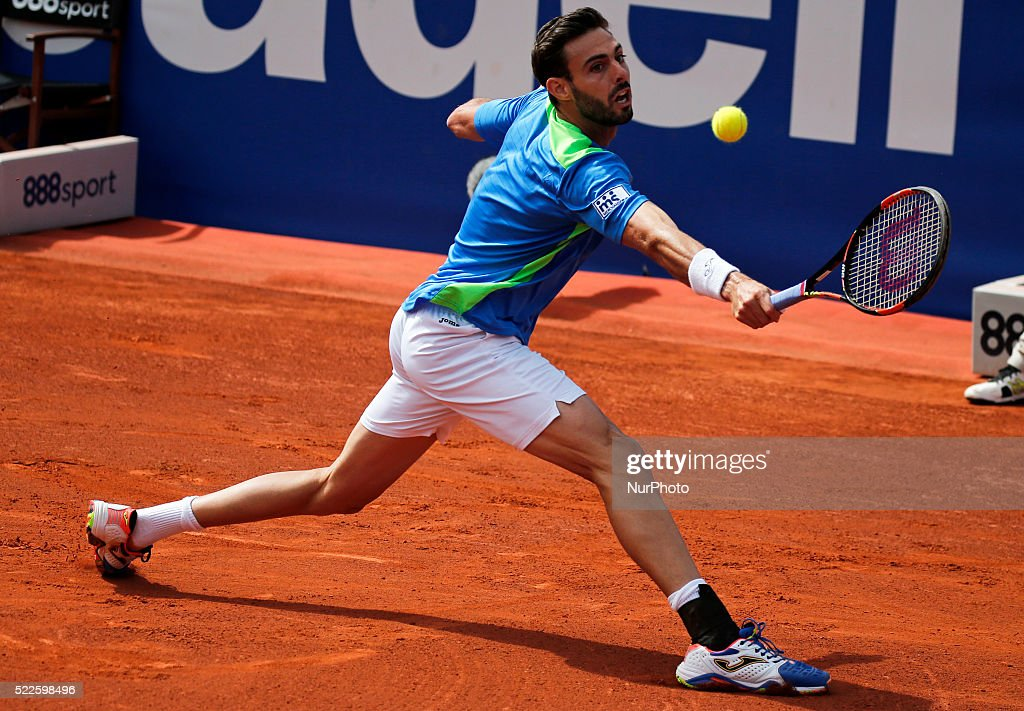 Marcel Granollers during the match against Rafa Nadal corresponding to the third round of the Open Banc Sabadell 64 Trophy Conde de Godo played on...