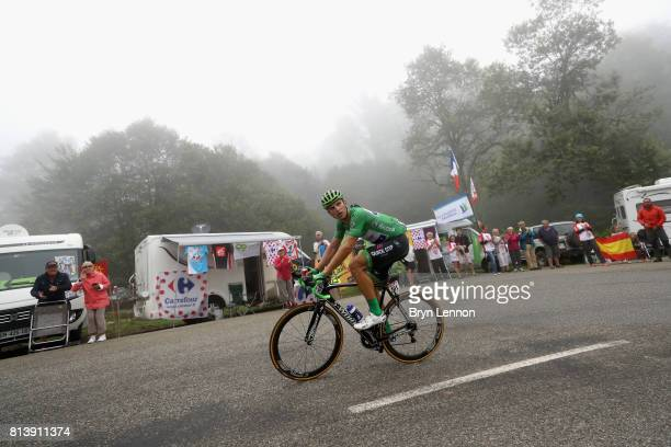 Marcel Kittel of Germany riding for QuickStep Floors in action during stage 12 of the Le Tour de France 2017 a 2145km stage from Pau to Peyragudes on...