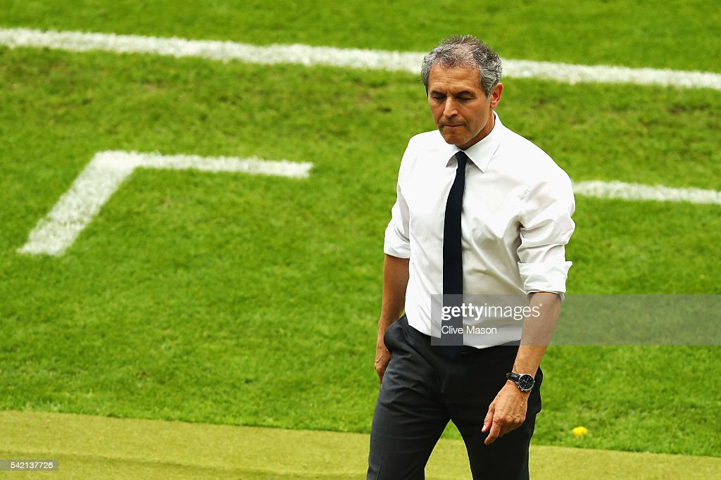 <a gi-track='captionPersonalityLinkClicked' href=/galleries/search?phrase=Marcel+Koller&family=editorial&specificpeople=535663 ng-click='$event.stopPropagation()'>Marcel Koller</a> head coach of Austria goes to the bench during the UEFA EURO 2016 Group F match between Iceland and Austria at Stade de France on June 22, 2016 in Paris, France.