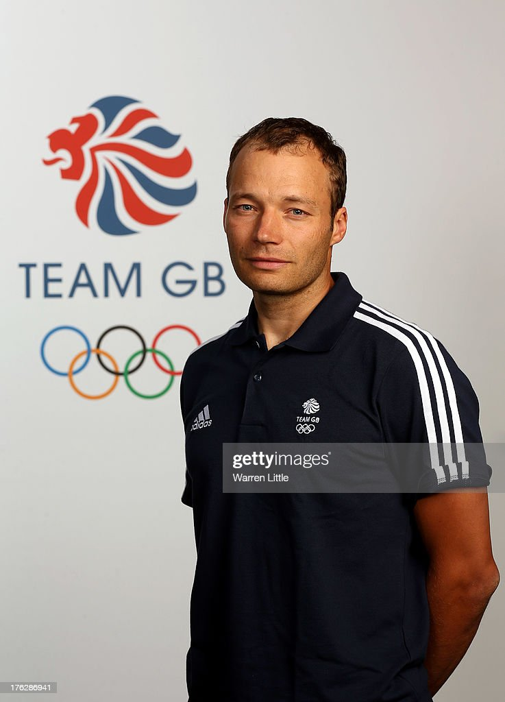 Marcel Laponder of the British Winter Olympic Biathlon Team poses for a portrait during the Team GB Winter Olympic Media Summit at Bath University on August 9, 2013 in Bath, England.