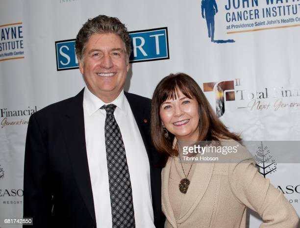 Marcel Loh and Jane Loh attend The Associates for Breast and Prostate Cancer Studies annual Mother's Day Luncheon at Four Seasons Hotel Los Angeles...
