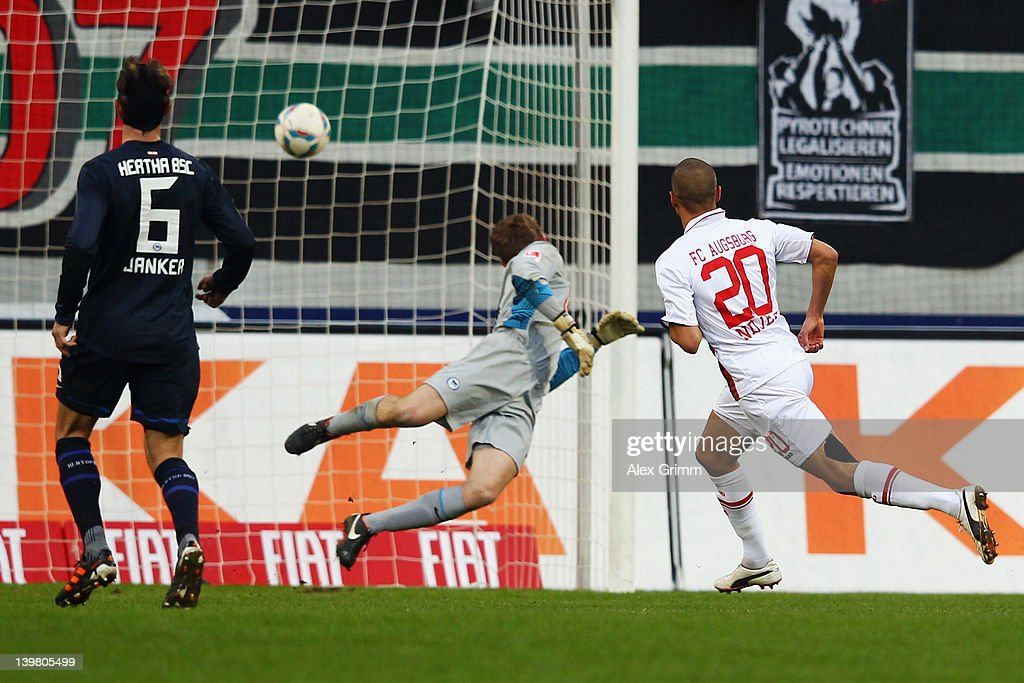 FC Augsburg v Hertha BSC Berlin  - Bundesliga