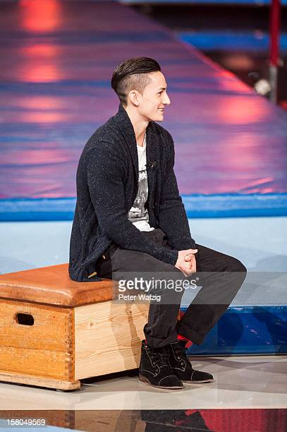 Marcel Nguyen attends the 'Menschen Bilder Emotionen' TVShow on December 09 2012 in Cologne Germany