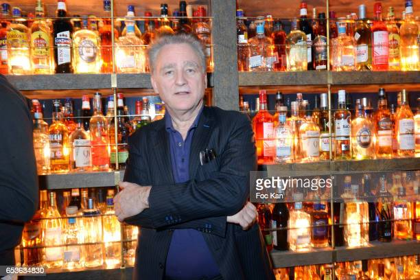 Marcel Proust specialist writer/philiosoph Michel Erman attends the 'Pizzeria Popolare 'Launch Party at Rue Reaumur in Paris on March 15 2017 in...