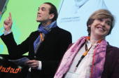 Marcel Reichert and Stephanie Czerny attend the Digital Life Design conference at HVB Forum on January 24 2010 in Munich Germany DLD brings together...