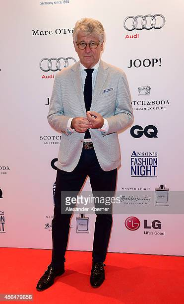 Marcel Reif attends the Anson's Fashion Night on October 1 2014 in Hamburg Germany