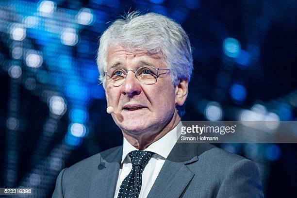 Marcel Reif attends the Radio Regenbogen Award 2016 at Europapark on April 22 2016 in Rust Germany