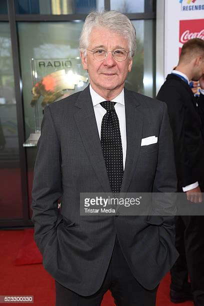Marcel Reif attends the Radio Regenbogen Award 2016 on April 22 2016 in Rust Germany