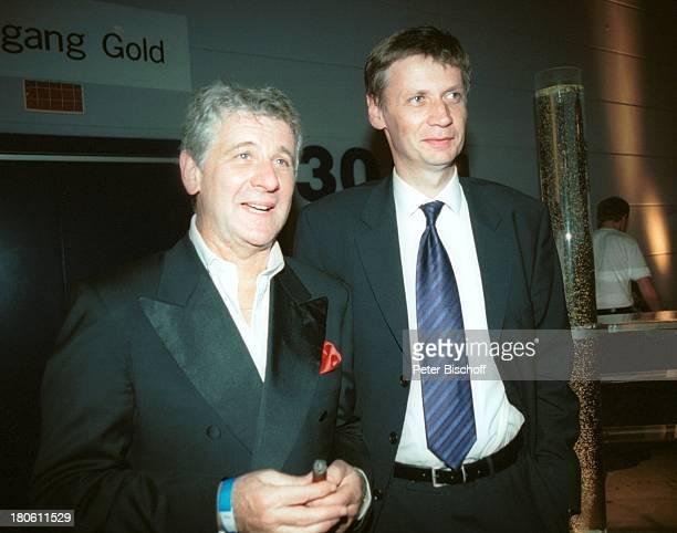 Marcel Reif Günther Jauch Gala 'Deutscher Fernsehpreis 2002' Köln 5102002 'Coloneum' Foyer PartyPNR896/2002 GT