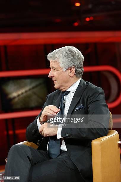 Marcel Reif in der ARDTalkshow GÜNTHER JAUCH am in BerlinThema der Sendung Der FIFASumpf Ð Wie schmutzig ist unser Fußball