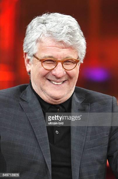 Marcel Reif Journalist und Moderator in der TalkShow 'GÜNTHER_JAUCH' in Berlin
