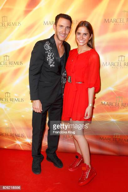 Marcel Remus and Lucia Strunz attend the Remus Lifestyle Night on August 3 2017 in Palma de Mallorca Spain