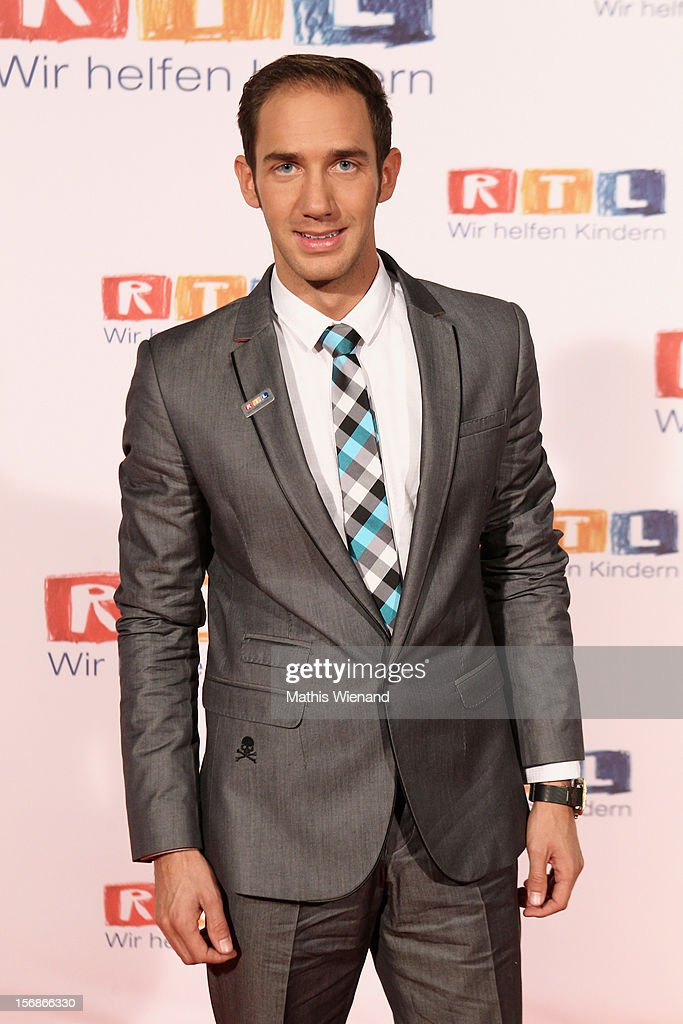 Marcel Remus attends the 'RTL Spendenmarathon' at RTL Studios on November 23, 2012 in Cologne, Germany.