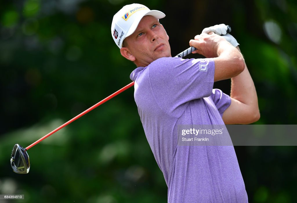 Marcel Siem of Germany plays a shot during Day One of the Maybank Championship Malaysia at Saujana Golf Club on February 9, 2017 in Kuala Lumpur, Malaysia.