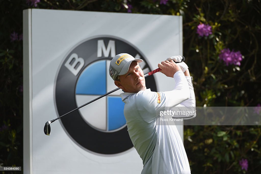<a gi-track='captionPersonalityLinkClicked' href=/galleries/search?phrase=Marcel+Siem&family=editorial&specificpeople=167180 ng-click='$event.stopPropagation()'>Marcel Siem</a> of Germany tees off on the 7th hole during day one of the BMW PGA Championship at Wentworth on May 26, 2016 in Virginia Water, England.
