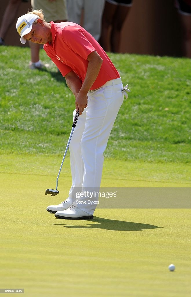 <a gi-track='captionPersonalityLinkClicked' href=/galleries/search?phrase=Marcel+Siem&family=editorial&specificpeople=167180 ng-click='$event.stopPropagation()'>Marcel Siem</a> of Germany watches his birdie putt attempt miss on the 16th hole during the final round of the Valero Texas Open at the AT&T Oaks Course at TPC San Antonio on April 7, 2013 in San Antonio, Texas.