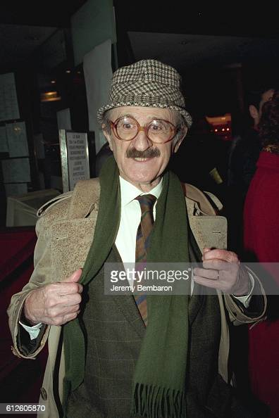 Marcel Zanini arrives at the Eldorado Theater
