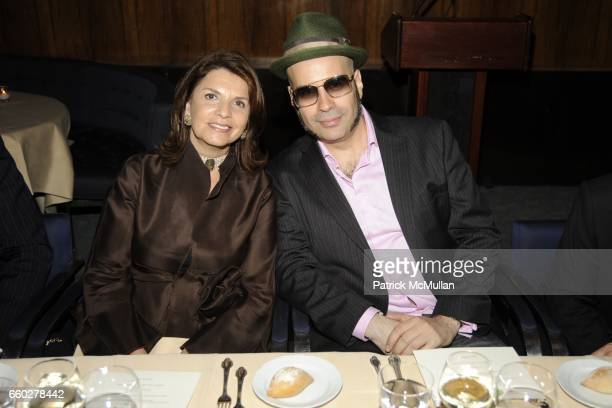 Marcela Rovzar and Andres Levin attend ENRIQUE NORTEN Private Dinner Celebrating the 25th Anniversary of TEN ARQUITECTOS at The Four Seasons...