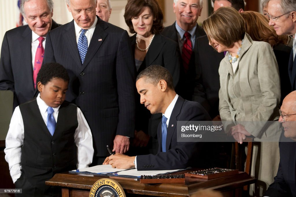 President Obama Signs Health Care Reform Bill