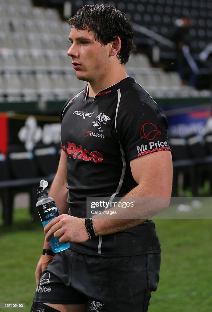 Marcell Coetzee during the Super Rugby match between The Sharks and Toyota Cheetahs from Kings Park on April 20, 2013 in Durban, South Africa.