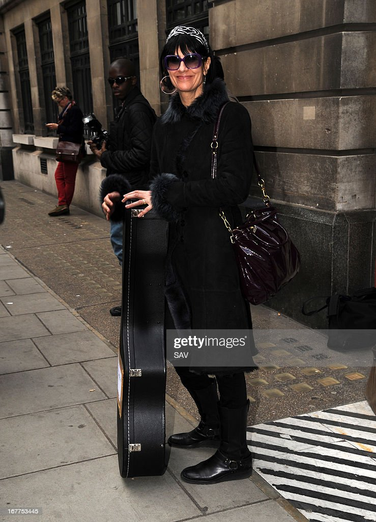 Marcella Detroit pictured at the BBC studios on April 29, 2013 in London, England.