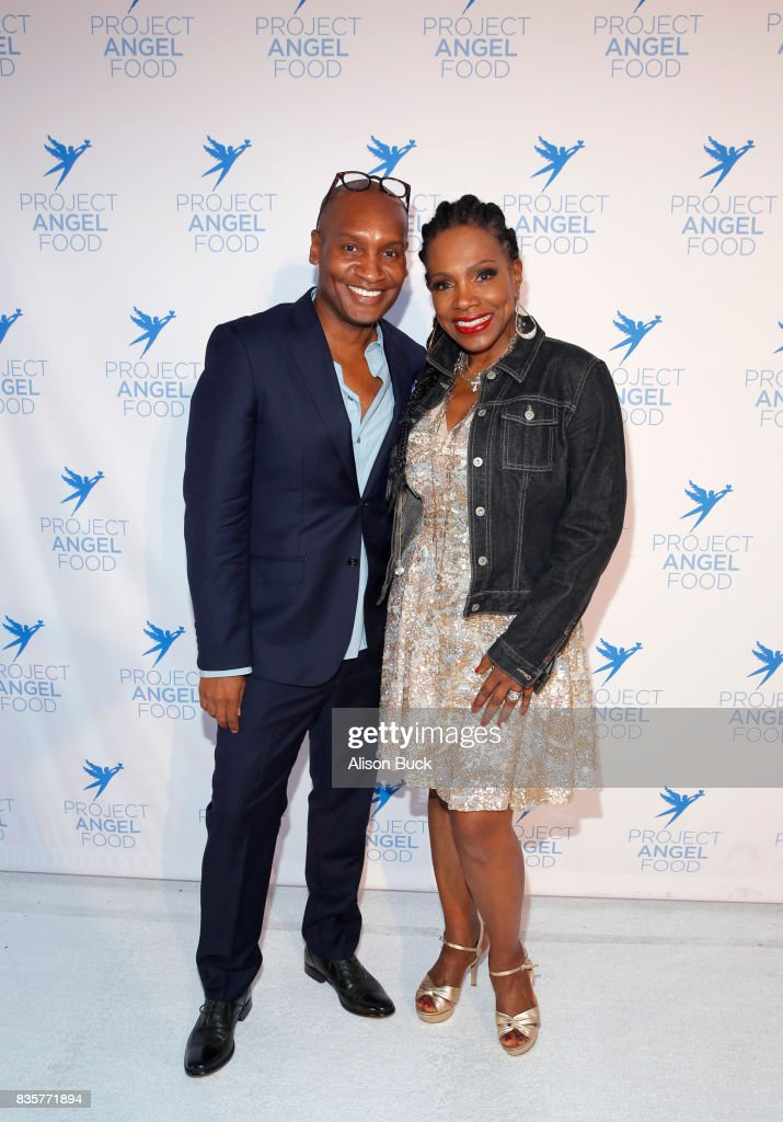 Marcellas Reynolds and actress Sheryl Lee Ralph attend Project Angel Food's 2017 Angel Awards on August 19, 2017 in Los Angeles, California.