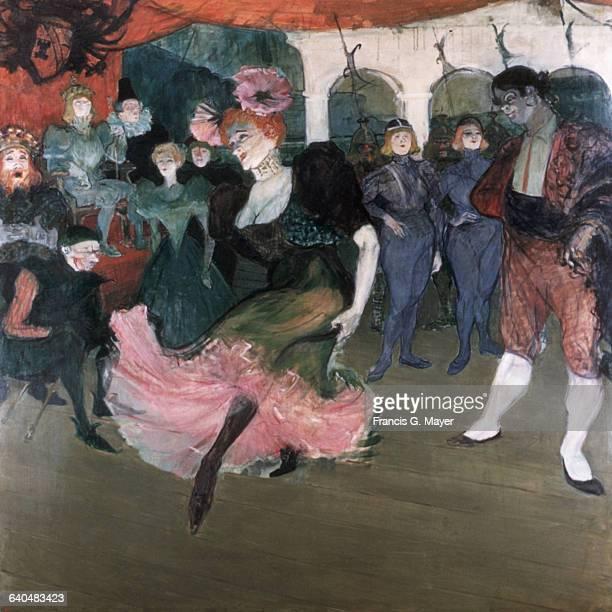 Marcelle Lender Dancing the Bolero in 'Chilperic' by Henri de ToulouseLautrec