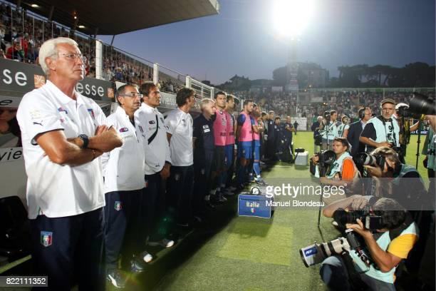 Marcello LIPPI Italie / Autriche Match amical Nice