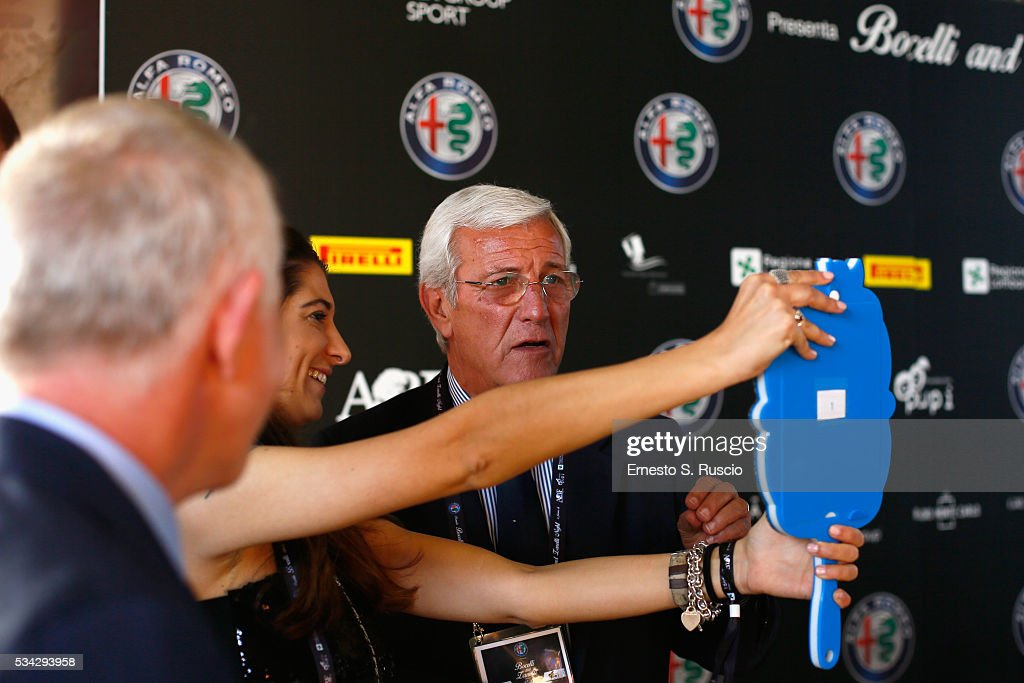 <a gi-track='captionPersonalityLinkClicked' href=/galleries/search?phrase=Marcello+Lippi&family=editorial&specificpeople=535060 ng-click='$event.stopPropagation()'>Marcello Lippi</a> attends Bocelli and Zanetti Night on May 25, 2016 in Rho, Italy.