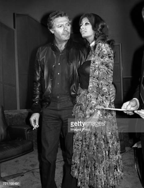 Marcello Mastroianni and Sophia Loren circa 1977 in New York City