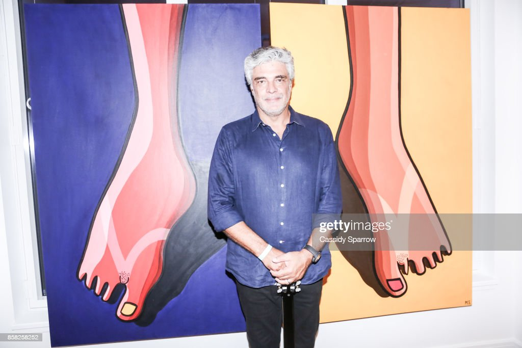 Marcello Serpa attends 'Terebintina' Exhibition Opening at Private Residence on October 5, 2017 in New York City.