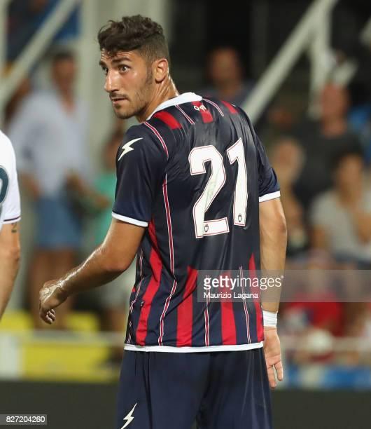 Marcello Trotta of Crotone during the PreSeason Friendly match between FC Crotone and Cagliari Calcio at Stadio Comunale Ezio Scida on August 5 2017...