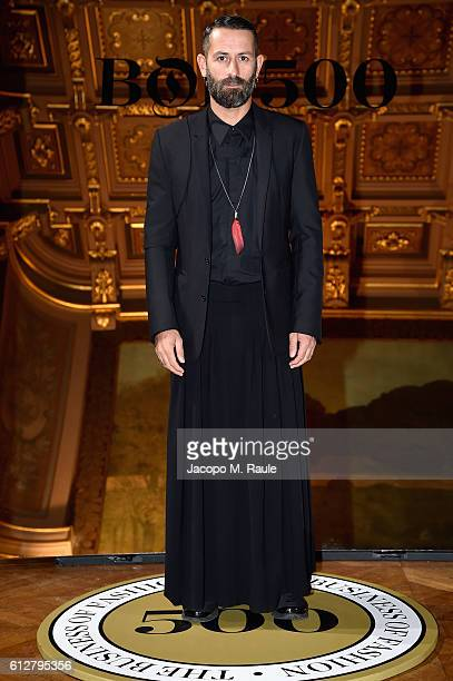 Marcelo Burlon attends the #BoF500 Cocktail Event as part of the Paris Fashion Week Womenswear Spring/Summer 2017 at Hotel de Ville on October 4 2016...