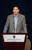 Marcelo Claure attends a press conference to reveal MLS' plans to build a soccer stadium on a Miami boat slip site at Hotel intercontinental on May...
