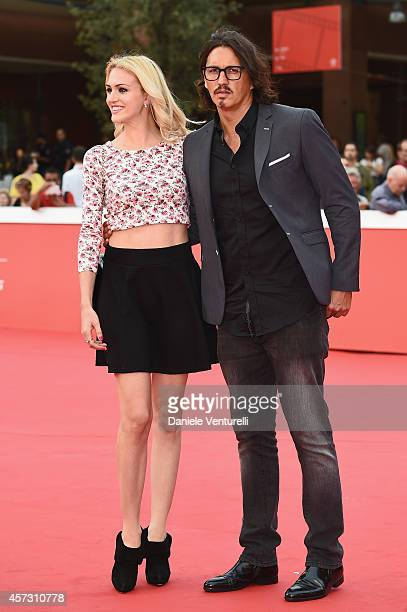 Marcelo Fuentes and Sofia Bruscoli attend the 'Il Mio Papa' Premiere during the 9th Rome Film Festival on October 16 2014 in Rome Italy