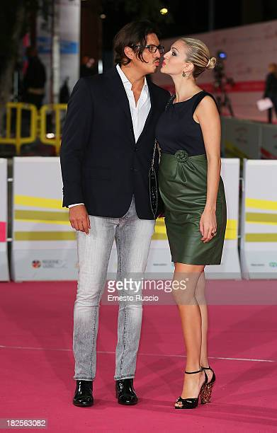 Marcelo Fuentes and Sofia Bruscoli attend the 'L' Assalto' photocall during the Roma Fiction Fest 2013 on September 30 2013 in Rome Italy
