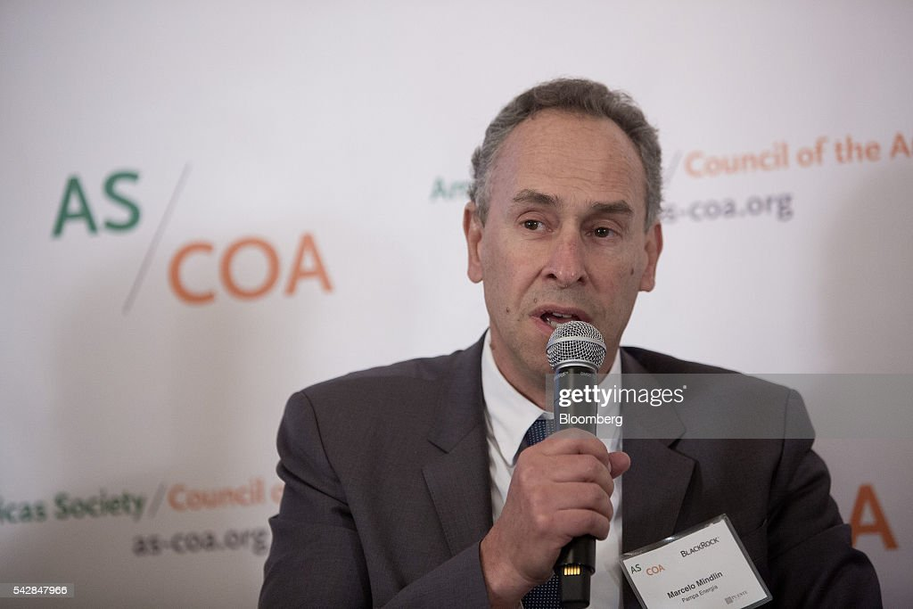 Marcelo Mindlin, chairman and chief executive officer of Pampa Energia SA, speaks during a panel discussion at the Argentina Investment Conference in New York, U.S., on Friday, June 24, 2016. The Argentina Investment Conference 2016 brought together senior policy makers, investors, and international and national business leaders for an insightful discussion on foreign investment in Argentina. Photographer: Eric Thayer/Bloomberg via Getty Images