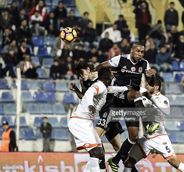 Marcelo of Besiktas in action during the Turkish Spor Toto Super Lig match between Adanaspor and Besiktas at Adana 5 Ocak Fatih Terim Stadium in...