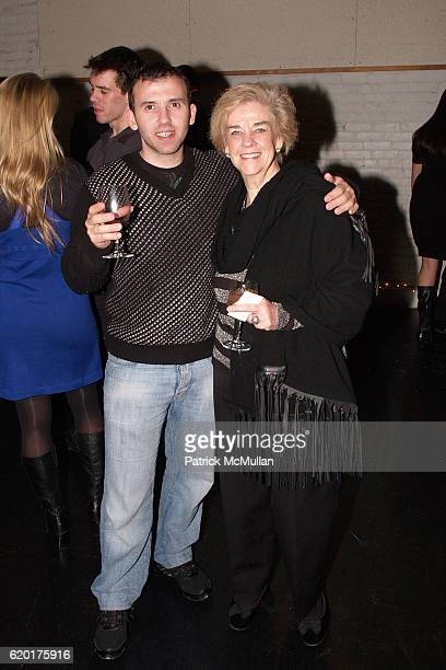 Marcelo Toledo and Cynde Horne attend PAUL TAYLOR DANCE Hosts Cocktails for YOUNG PATRONS at 552 Broadway on November 11 2008 in New York City