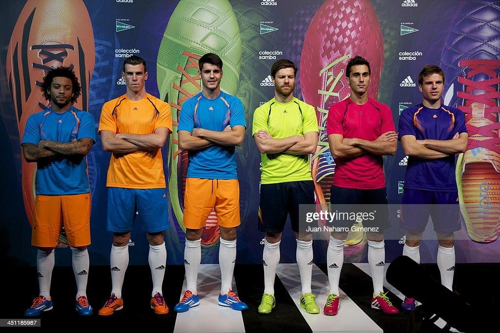 Hilo del Real Madrid Marcelo-vieira-gareth-bale-alvaro-morata-xabi-alonso-alvaro-arbeloa-picture-id451185987