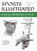 Golf Illustration of Ben Hogan giving golf tips painting by Art Department New York NY 1/1/19573/11/1957 CREDIT Anthony Ravielli