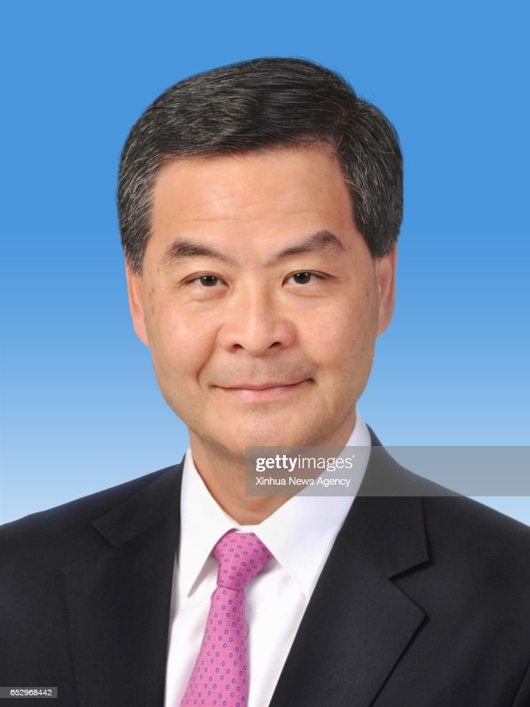 BEIJING, March 13, 2017 -- Leung Chun-ying is elected vice chairman of the 12th National Committee of the Chinese People's Political Consultative Conference (CPPCC) at the closing meeting of the fifth session of the 12th CPPCC National Committee in Beijing, capital of China, March 13, 2017.
