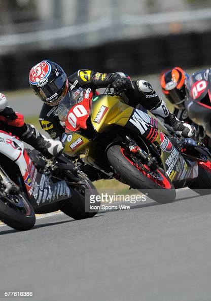 Dane Westby Yamaha YZFR6 in action during the AMA Pro GoPro Daytona SportBike 200 held at Daytona International Speedway Florida