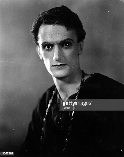 Stage film and TV actor John Lawrie as he appeared in Hamlet at the Old Vic Well known when he was older for his role in the long running BBC TV...