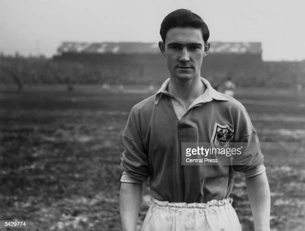 Blackpool and Scotland footballer Jackie Mudie